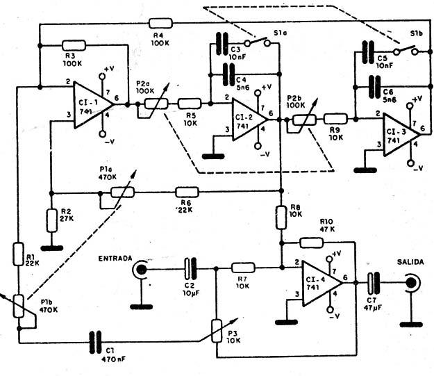 ecualizador parametrico  art149s